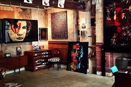 Ben Oakley Gallery Interior